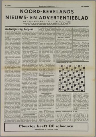 Noord-Bevelands Nieuws- en advertentieblad 1973-03-15
