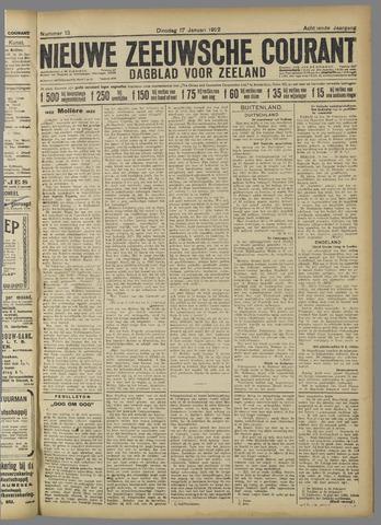 Nieuwe Zeeuwsche Courant 1922-01-17