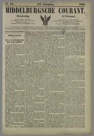Middelburgsche Courant 1888-02-09