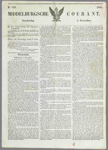 Middelburgsche Courant 1865-11-09