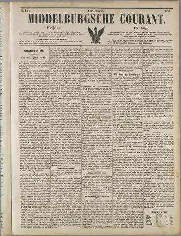 Middelburgsche Courant 1903-05-15