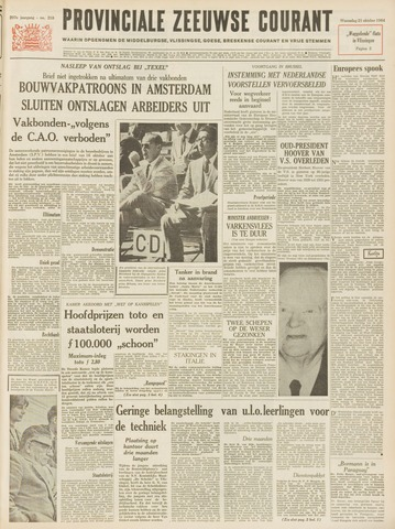 Provinciale Zeeuwse Courant 1964-10-21