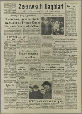Zeeuwsch Dagblad 1958-04-16