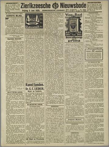 Zierikzeesche Nieuwsbode 1925-06-05