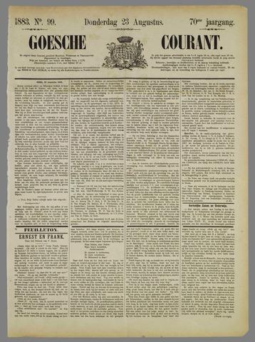 Goessche Courant 1883-08-23