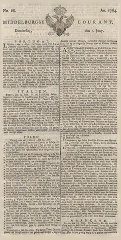 Middelburgsche Courant 1764-06-07