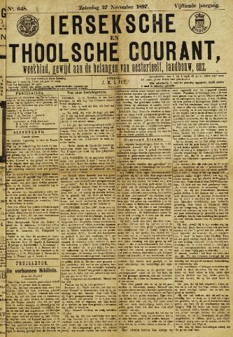 Ierseksche en Thoolsche Courant 1897-11-27