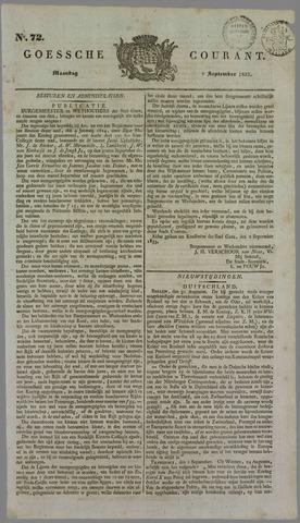 Goessche Courant 1833-09-09