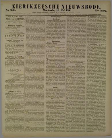Zierikzeesche Nieuwsbode 1889-05-16