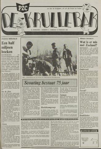 Provinciale Zeeuwse Courant katern Krullenbak (1981-1999) 1985-02-12