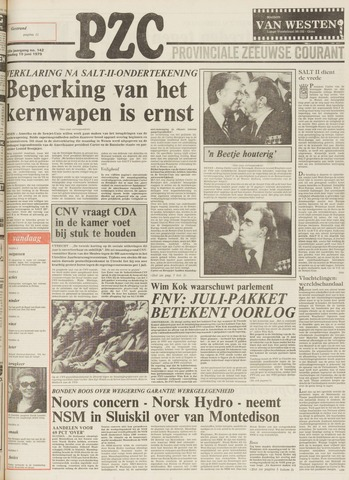Provinciale Zeeuwse Courant 1979-06-19