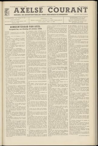 Axelsche Courant 1968-11-09