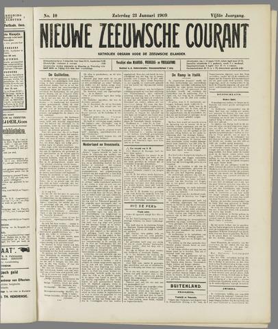 Nieuwe Zeeuwsche Courant 1909-01-23