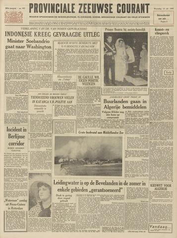 Provinciale Zeeuwse Courant 1962-07-18