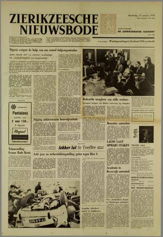 Zierikzeesche Nieuwsbode 1970-01-15