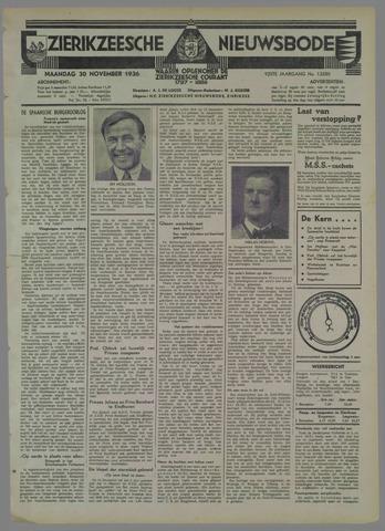 Zierikzeesche Nieuwsbode 1936-11-30