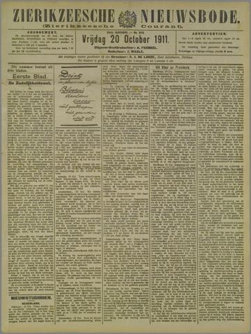 Zierikzeesche Nieuwsbode 1911-10-20