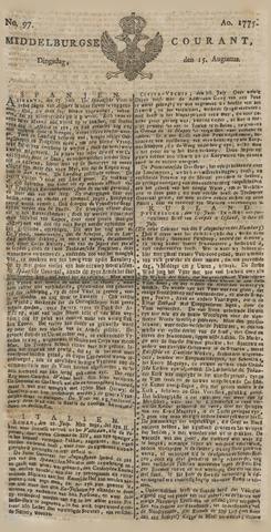 Middelburgsche Courant 1775-08-15