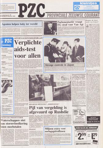 Provinciale Zeeuwse Courant 1989-02-23