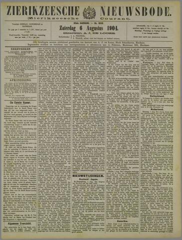 Zierikzeesche Nieuwsbode 1904-08-06