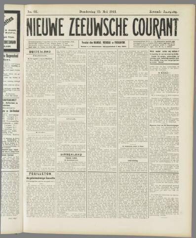 Nieuwe Zeeuwsche Courant 1911-05-25