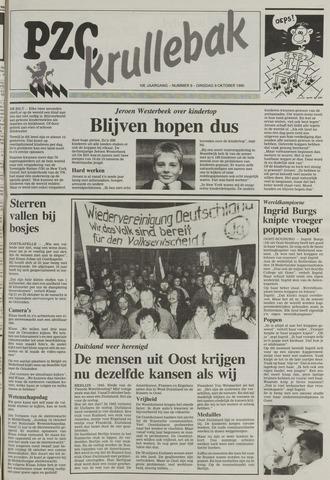 Provinciale Zeeuwse Courant katern Krullenbak (1981-1999) 1990-10-09