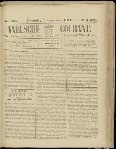 Axelsche Courant 1891-09-02