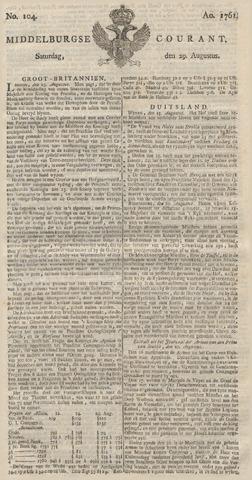 Middelburgsche Courant 1761-08-29