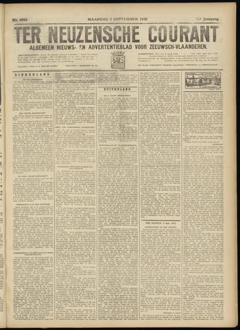 Ter Neuzensche Courant. Algemeen Nieuws- en Advertentieblad voor Zeeuwsch-Vlaanderen / Neuzensche Courant ... (idem) / (Algemeen) nieuws en advertentieblad voor Zeeuwsch-Vlaanderen 1932-09-05
