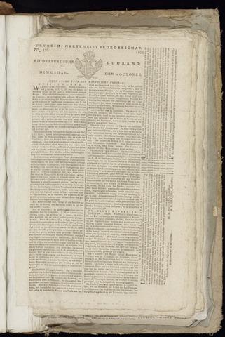 Middelburgsche Courant 1800-10-14
