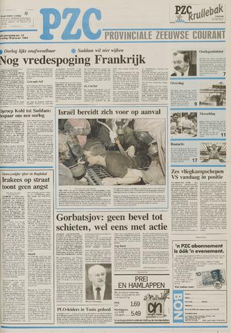 Provinciale Zeeuwse Courant 1991-01-15