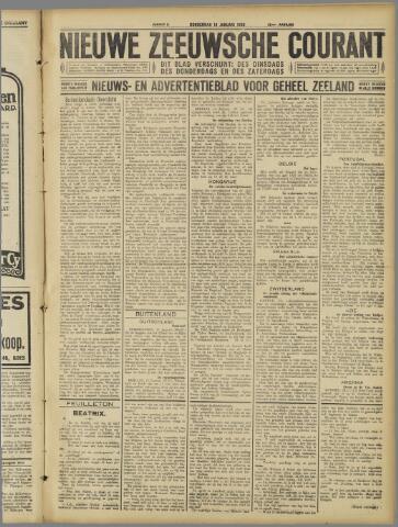 Nieuwe Zeeuwsche Courant 1926-01-14