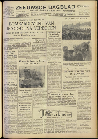 Zeeuwsch Dagblad 1954-11-09