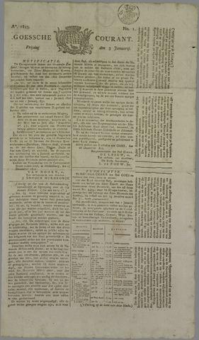 Goessche Courant 1823