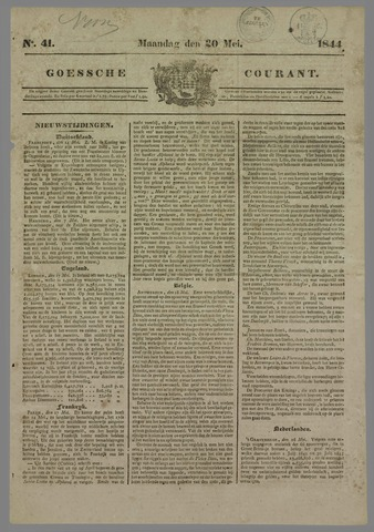 Goessche Courant 1844-05-20