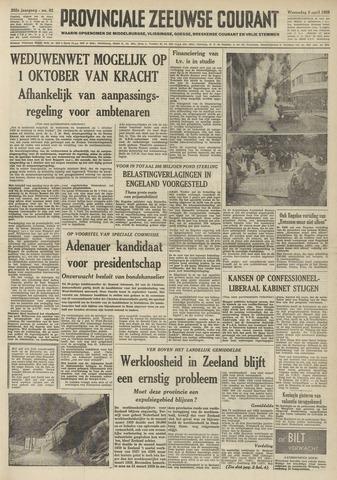 Provinciale Zeeuwse Courant 1959-04-08