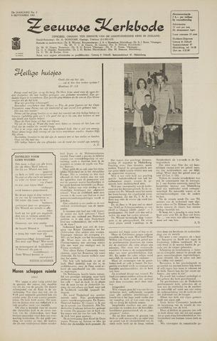 Zeeuwsche kerkbode, weekblad gewijd aan de belangen der gereformeerde kerken/ Zeeuwsch kerkblad 1968-09-05