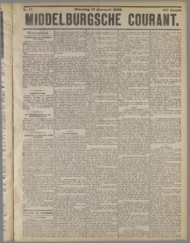 Middelburgsche Courant 1922-01-17