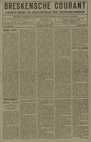 Breskensche Courant 1923-10-06