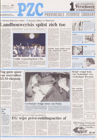 Provinciale Zeeuwse Courant 1990-10-29