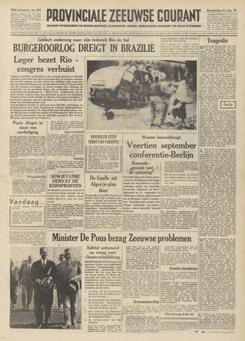 Provinciale Zeeuwse Courant 1961-08-31