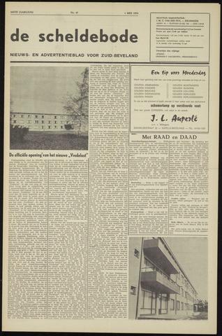 Scheldebode 1970-05-01