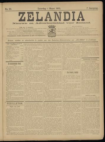 Zelandia. Nieuws-en advertentieblad voor Zeeland | edities: Het Land van Hulst en De Vier Ambachten 1902-03-01