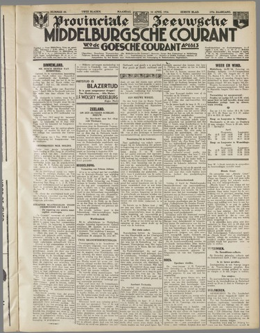 Middelburgsche Courant 1934-04-16