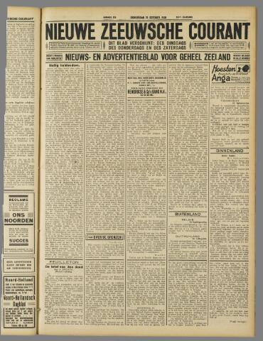 Nieuwe Zeeuwsche Courant 1929-10-31