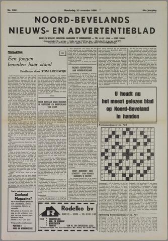 Noord-Bevelands Nieuws- en advertentieblad 1980-11-20