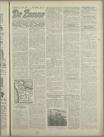 De Zeeuw. Christelijk-historisch nieuwsblad voor Zeeland 1944-06-12