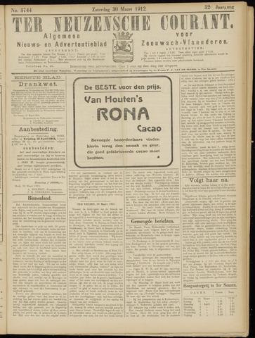Ter Neuzensche Courant. Algemeen Nieuws- en Advertentieblad voor Zeeuwsch-Vlaanderen / Neuzensche Courant ... (idem) / (Algemeen) nieuws en advertentieblad voor Zeeuwsch-Vlaanderen 1912-03-30