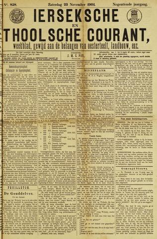 Ierseksche en Thoolsche Courant 1901-11-23