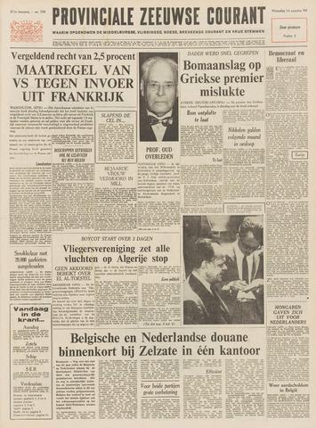 Provinciale Zeeuwse Courant 1968-08-14